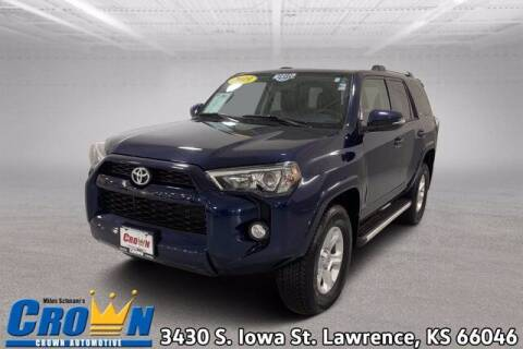 2019 Toyota 4Runner for sale at Crown Automotive of Lawrence Kansas in Lawrence KS
