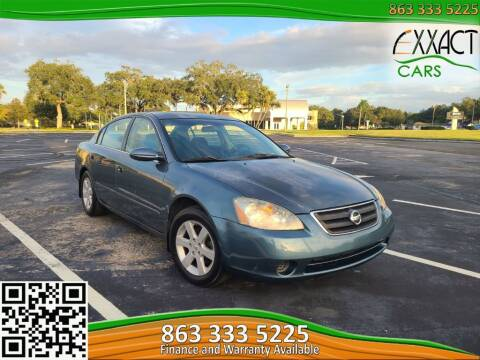 2002 Nissan Altima for sale at Exxact Cars in Lakeland FL