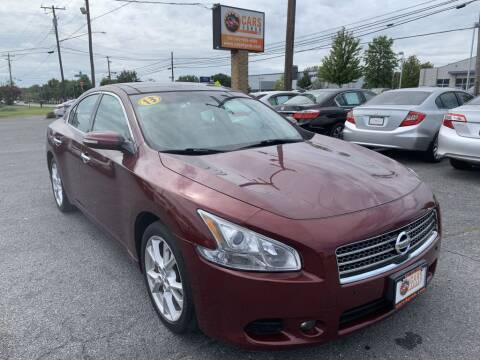 2013 Nissan Maxima for sale at Cars 4 Grab in Winchester VA
