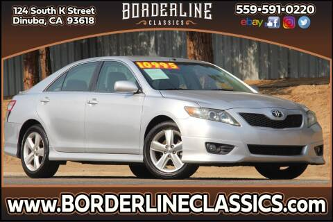 2011 Toyota Camry for sale at Borderline Classics in Dinuba CA