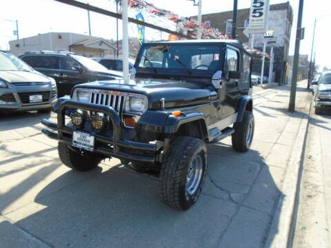 1993 Jeep Wrangler for sale at CAR CENTER INC in Chicago IL
