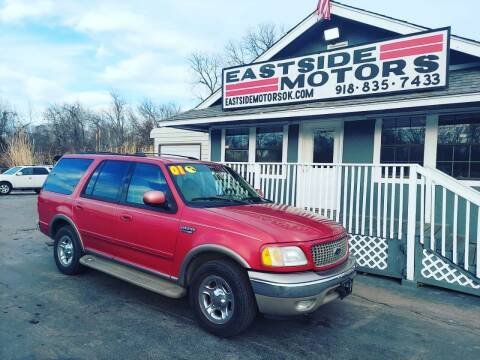 2001 Ford Expedition for sale at EASTSIDE MOTORS in Tulsa OK