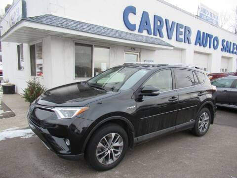 2018 Toyota RAV4 Hybrid for sale at Carver Auto Sales in Saint Paul MN