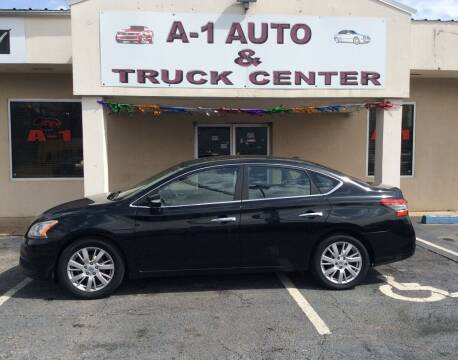 2013 Nissan Sentra for sale at A-1 AUTO AND TRUCK CENTER in Memphis TN
