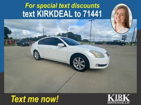 2004 Nissan Maxima for sale at Kirk Brothers Batesville in Batesville MS
