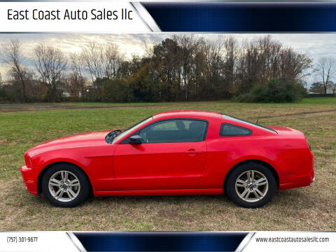2014 Ford Mustang for sale at East Coast Auto Sales llc in Virginia Beach VA