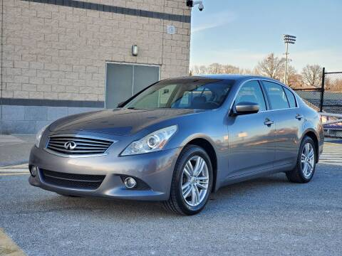 2011 Infiniti G25 Sedan for sale at FAYAD AUTOMOTIVE GROUP in Pittsburgh PA
