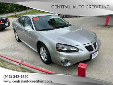 2008 Pontiac Grand Prix for sale at Central Auto Credit Inc in Kansas City KS