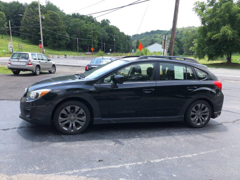 2012 Subaru Impreza for sale at Edward's Motors in Scott Township PA
