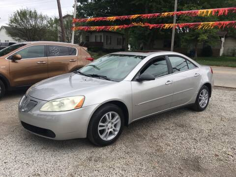2006 Pontiac G6 for sale at Antique Motors in Plymouth IN