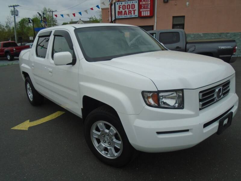 2008 Honda Ridgeline for sale at Broadway Auto Services in New Britain CT