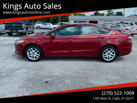 2014 Ford Fusion for sale at Kings Auto Sales in Cadiz KY