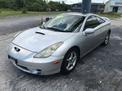 2000 Toyota Celica for sale at Jack's Auto Sales in Port Richey FL