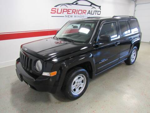 2015 Jeep Patriot for sale at Superior Auto Sales in New Windsor NY