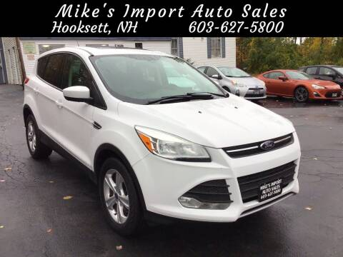 2013 Ford Escape for sale at Mikes Import Auto Sales INC in Hooksett NH