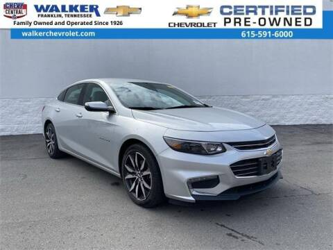2017 Chevrolet Malibu for sale at WALKER CHEVROLET in Franklin TN