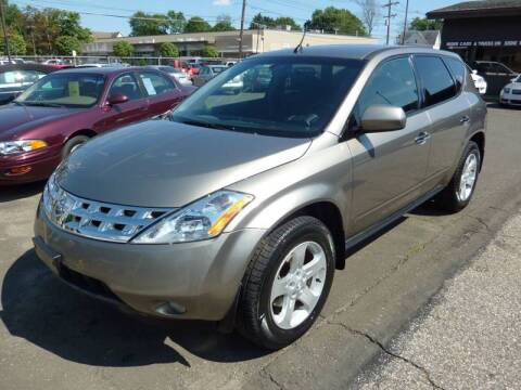 2004 Nissan Murano for sale at Regner's Auto Sales in Danbury CT