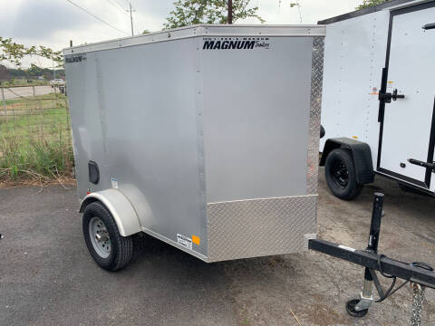 2018 Continental Cargo 4X6 DOOR  for sale at Trophy Trailers in New Braunfels TX