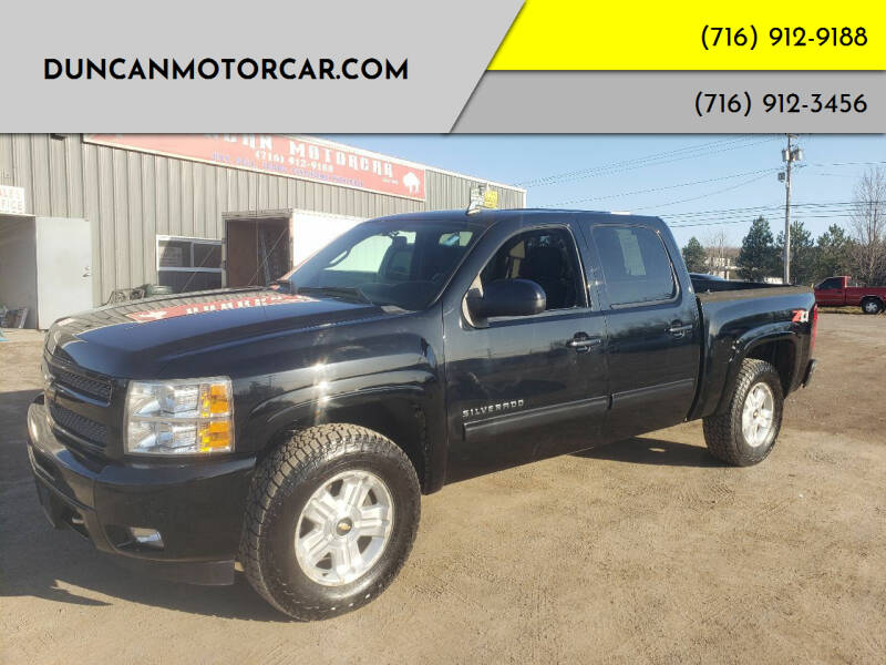2011 Chevrolet Silverado 1500 for sale at DuncanMotorcar.com in Buffalo NY