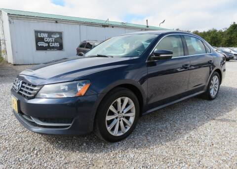 2012 Volkswagen Passat for sale at Low Cost Cars in Circleville OH