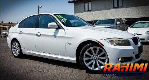 2011 BMW 3 Series for sale at Rahimi Automotive Group in Yuma AZ