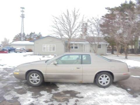 2000 Cadillac Eldorado for sale at Engels Autos Inc in Ramsey MN