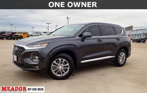 2020 Hyundai Santa Fe for sale at Meador Dodge Chrysler Jeep RAM in Fort Worth TX