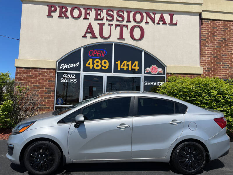 2016 Kia Rio for sale at Professional Auto Sales & Service in Fort Wayne IN