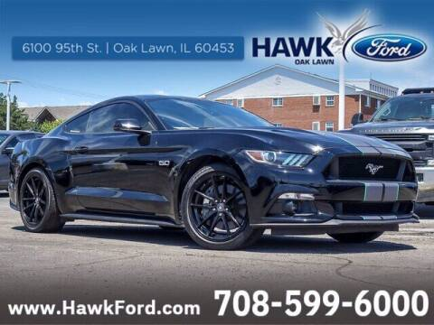 2015 Ford Mustang for sale at Hawk Ford of Oak Lawn in Oak Lawn IL
