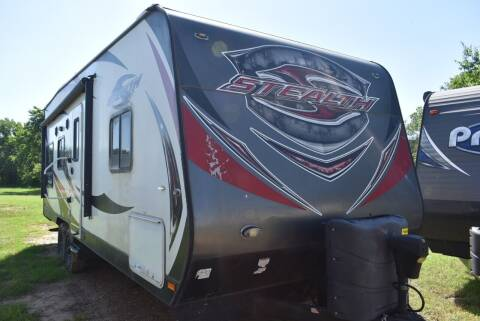 2016 Forest River Stealth 26T for sale at Buy Here Pay Here RV in Burleson TX