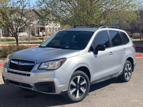 2017 Subaru Forester for sale at Zapp Motors in Englewood CO