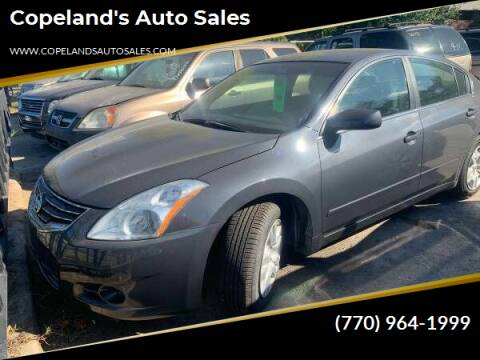 2012 Nissan Altima for sale at Copeland's Auto Sales in Union City GA