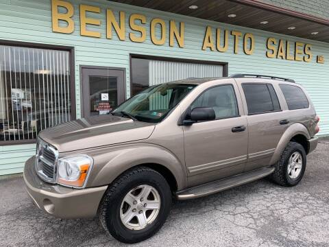 2005 Dodge Durango for sale at Superior Auto Sales in Duncansville PA