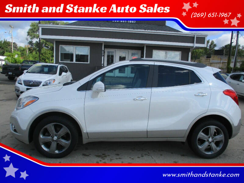 2014 Buick Encore for sale at Smith and Stanke Auto Sales in Sturgis MI