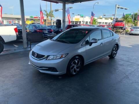 2013 Honda Civic for sale at American Auto Sales in Hialeah FL