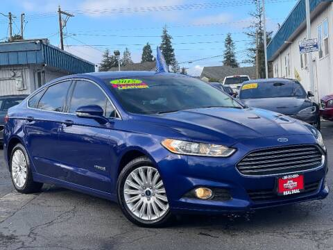 2015 Ford Fusion Hybrid for sale at Real Deal Cars in Everett WA