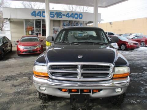 2000 Dodge Dakota for sale at Elite Auto Sales in Willowick OH