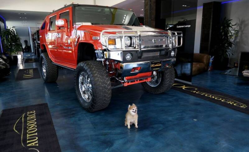 2008 HUMMER H2 SUT for sale at OC Autosource in Costa Mesa CA