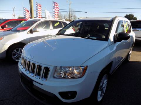 2012 Jeep Compass for sale at Pro-Motion Motor Co in Lincolnton NC