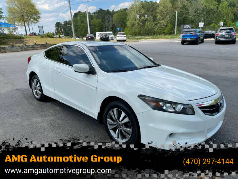 2012 Honda Accord for sale at AMG Automotive Group in Cumming GA