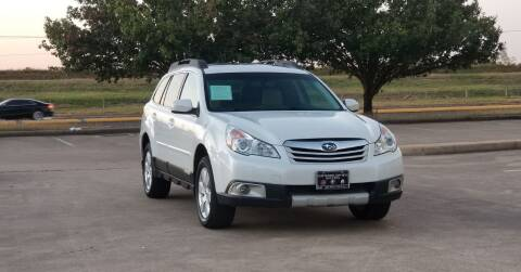 2012 Subaru Outback for sale at America's Auto Financial in Houston TX