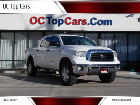 2008 Toyota Tundra for sale at OC Top Cars in Irvine CA