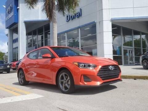 2020 Hyundai Veloster for sale at DORAL HYUNDAI in Doral FL