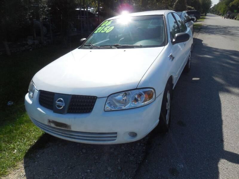 2006 Nissan Sentra for sale at SCOTT HARRISON MOTOR CO in Houston TX