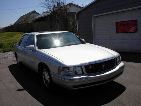 1999 Cadillac DeVille for sale at Marty's Auto Sales in Lenoir City TN