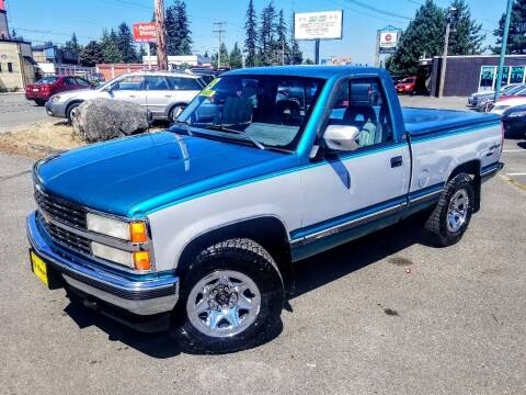 1993 Chevrolet C/K 1500 Series for sale at SS MOTORS LLC in Edmonds WA