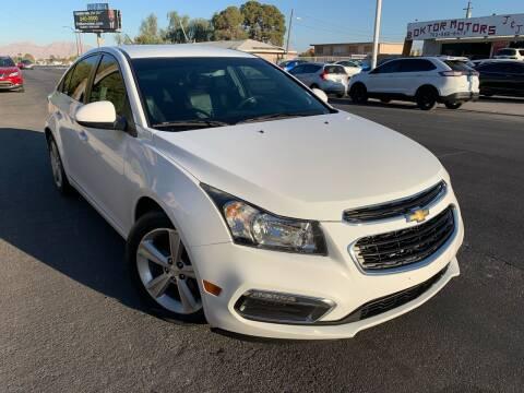 2015 Chevrolet Cruze for sale at Boktor Motors in Las Vegas NV