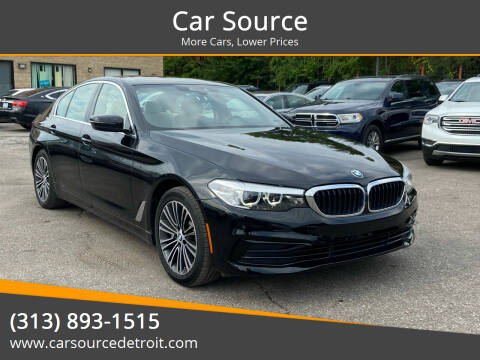 2019 BMW 5 Series for sale at Car Source in Detroit MI