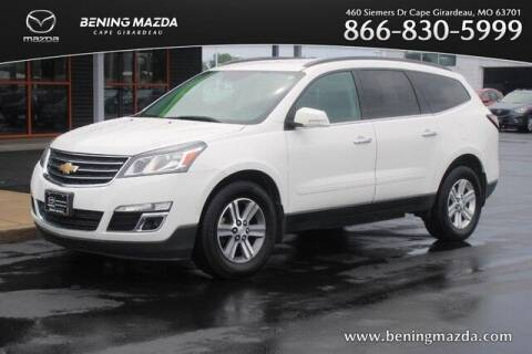 2013 Chevrolet Traverse for sale at Bening Mazda in Cape Girardeau MO