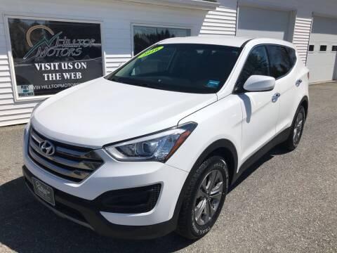 2016 Hyundai Santa Fe Sport for sale at HILLTOP MOTORS INC in Caribou ME